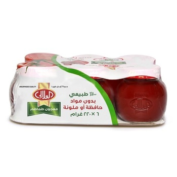Al Alali Tomato Paste 6 x 220g