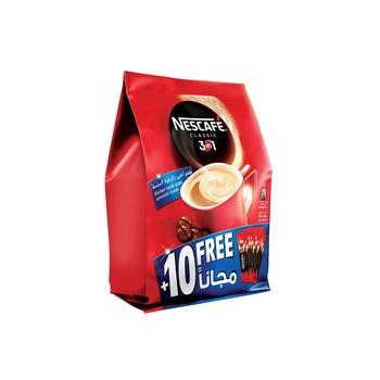 Nescafe 3 In1 Classic Pouch 30+10X20g