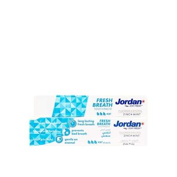 Jordan Fresh Breath Toothpaste 75ml