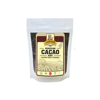 London Superfoods Organic Cacao Nibs Gluten Free 250g
