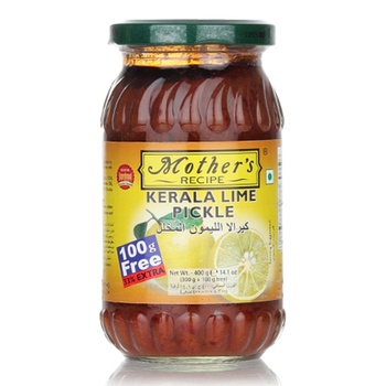 Mothers Recipe Kerela Lime Pickle 300G+33%Ex
