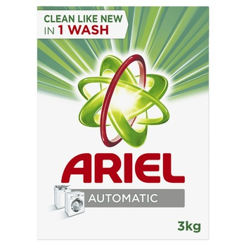 Ariel Automatic Laundry Powder Detergent Original Scent 3 kg