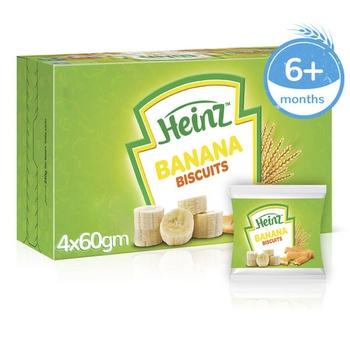 Heinz Biscuits Banana 240g
