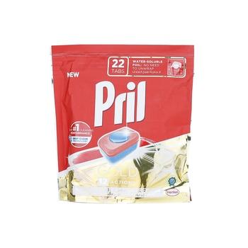 Pril Gold Auto Dishwash Tablets, 22 Tablets