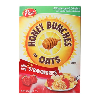 Post Honey Bunches Of Oats  Strawberries 13 oz