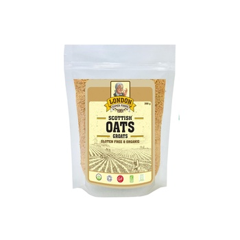London Superfoods Organic Naked Oat Groats Gluten Free 350g