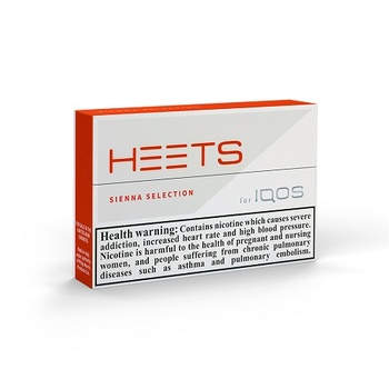 HEETS Sienna Selection Tobacco Sticks 20's