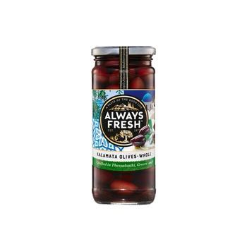 Always Fresh Kalamata Olives Whole 440g