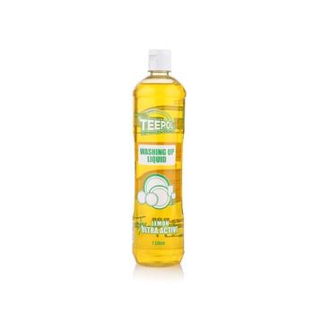 Teepol washing up liquid lemon 1 litre