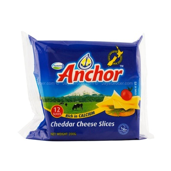 Anchor Cheese Slices 454g