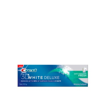 Crest 3D White Deluxe Anti-Tobacco Fresh 75ml
