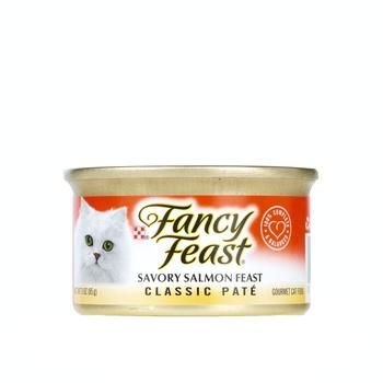 Purina Fancy Feast Savory Salmon Feast 85g
