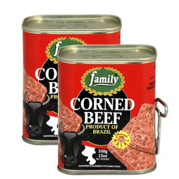 Family Corned Beef 340g Twin Pack