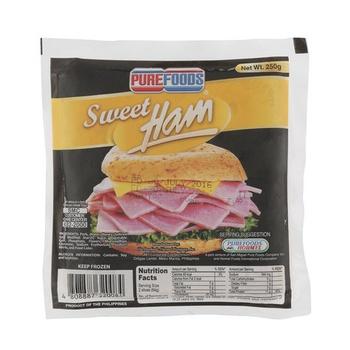 Purefood Sweet Ham Sliced 250g