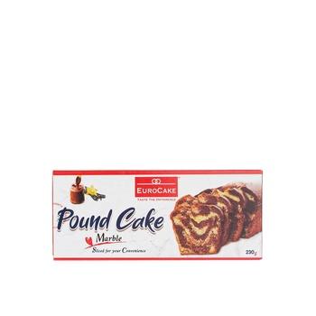 Eurocake Sliced Pound Cake Marble 230g