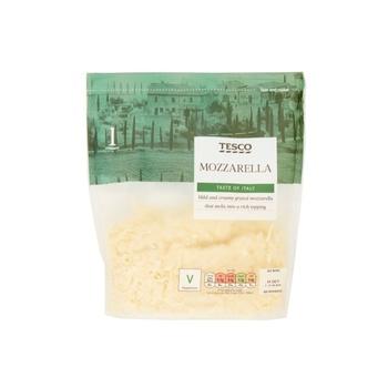 Tesco Mozzarella Grated 250g
