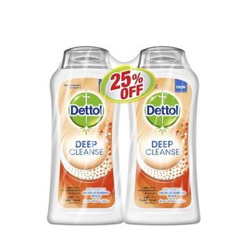 Dettol Deep Cleanse Shower Gel 2 x 250 ml @ 25% Off