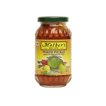 Mothers Recipe South Indian Style Mixed Pickle 300g