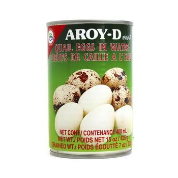Aroy-D Quail Eggs In Water 425g