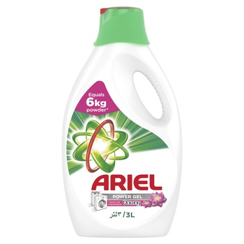 Ariel Power Gel Washing Detergent with Touch of Downy 3ltr