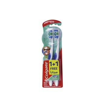 Colgate 360 Tooth Brush Medium Pack of 2