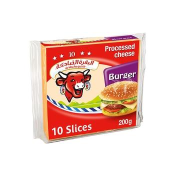 La Vache qui rit Burger Cheese Slices 10 Slices 200g