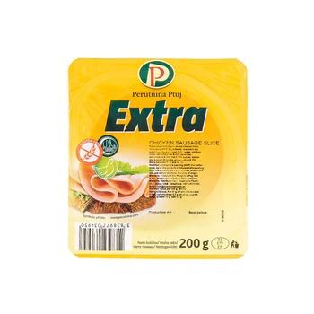 Perutnina Chickn Sausag Slice 200Gr