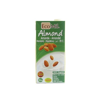 Ecomil Almond Sweetened Gluten Free Milk 1ltr