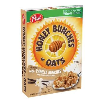Post Honey Bunches Of Oats Vanilla 18 OZ
