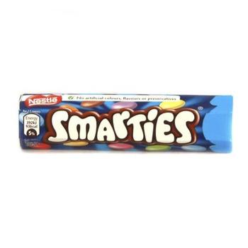Nestle Smarties Hexatube 89g