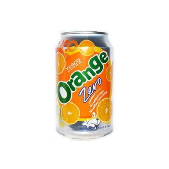 Tesco Orange Zero 330 ml