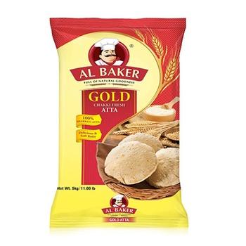 Al Baker Chakki Atta Gold 5kg