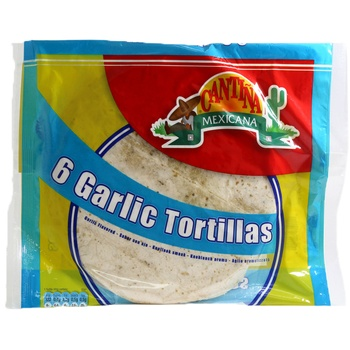 Cantina Mexicana Garlic Tortilla 240g