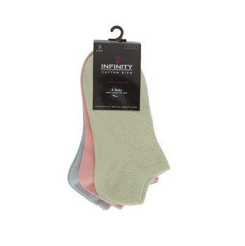 Infinity Ladies Socks Set 3 Pcs