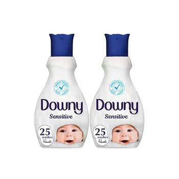 Downy Concentrate Fabric Softener Sensitive 1 ltr Pack Of 2
