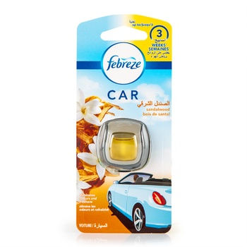 Febreze Car Sandalwood Air Freshner 2ml