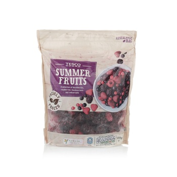 Tesco summer fruits 500g
