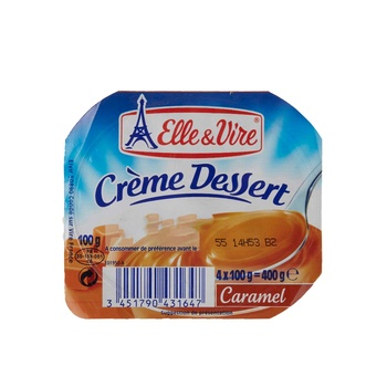 Elle & Vire Cream Dessert Cramel 125g