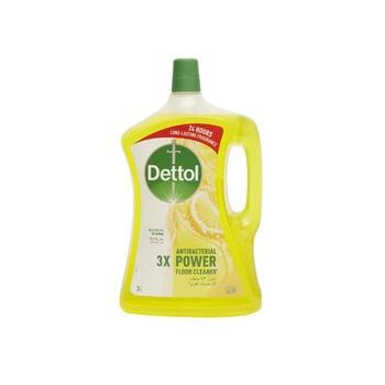 Dettol Multiaction Cleaner Lemon 3ltr