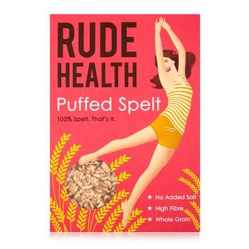 Rude Health Puffed Spelt Cereal 125g