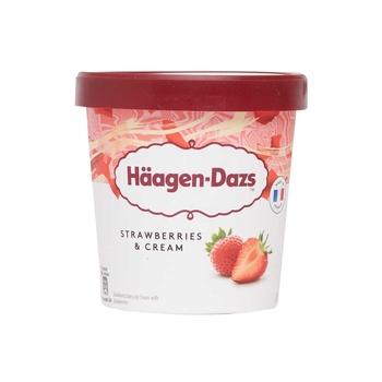 Haagen Dazs Strawberry & Cream 460 ml