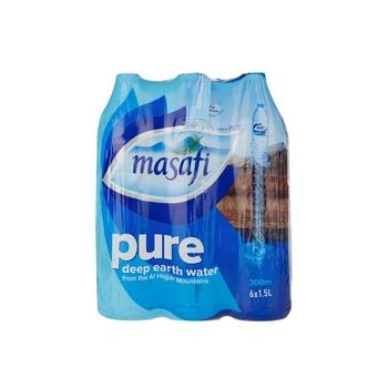 Masafi Bottled Drinking Water 6 x 1.5 Ltr