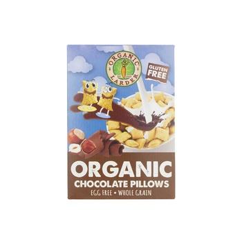 Organic Larder Organic Gluten Free Chocolate &Hazelnut Pillows 300gm