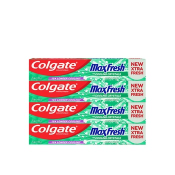 Colgate Toothpaste Maxfresh Cleanmint 75ml Pack Of 4