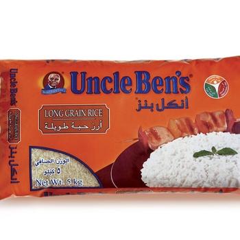 Uncle Bens Long Grain Rice 5kg