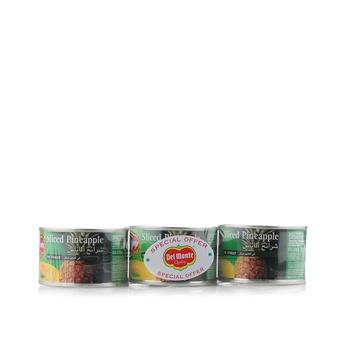 Del Monte Pine Slices 3 x 234gm
