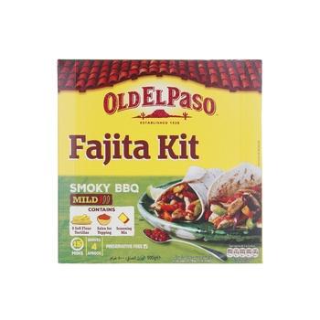 Old El Paso Bbq Fajita Kit Amoky Bbq 500g