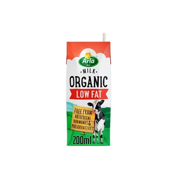 Arla Organic Low Fat Milk 200 ml