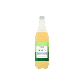 Tesco Low Calorie American Ginger Ale 1 ltr