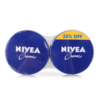 Nivea Creme Cream Face Body Hand Moisturising 2x250ml @ Special Price